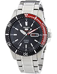 Seiko Herren-Armbanduhr XL Sports Analog Automatik Edelstahl SRP557K1