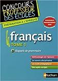 Français : Tome 1