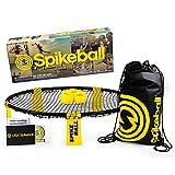 Set de Spikeball - Pour jouer en plein air, à l'intérieur, sur l'herbe ou sur le sable - inclut une balle, un sac à cordon,et un livret de règles. Pour les filles et les garçons, les adolescents et les adultes, en famille ou avec vos amis