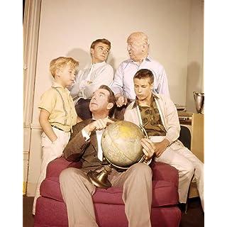 MES trois Sons avec Fred Macmurray, William Frawley, Tim Considine, n'Grady, Stanley Livingston, Barry Livingston 14x 11Photo