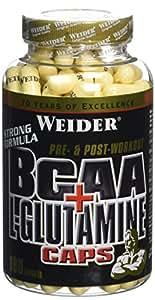 WEIDER BCAA + L-glutamine 180 Gélules