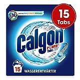 Calgon 3in1 Power Tabs - Wasserenthärter gegen Kalkablagerungen und Schmutz in der Waschmaschine - Beugt unangenehmen Gerüchen vor