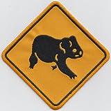 Australien Flagge Koala Bär Road Schild bestickt Patch Badge