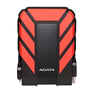 A-DATA HD710 Pro 1 TB USB 3.0 Portable External Hard Drive - Red