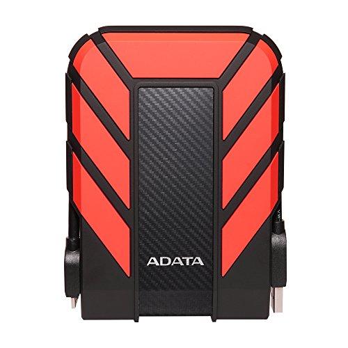 ADATA 1TB Pro EXT. Hard Drive. red USB 3.0. HD710P, AHD710P-1TU31-CRD (USB 3.0. HD710P Dashdrive) - Pro 1 Tb Usb