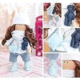 GMMH Puppen Nähset Stoff Doll Katty 30 cm Puppe Safinaz Weichpuppe Stoffpuppe weich