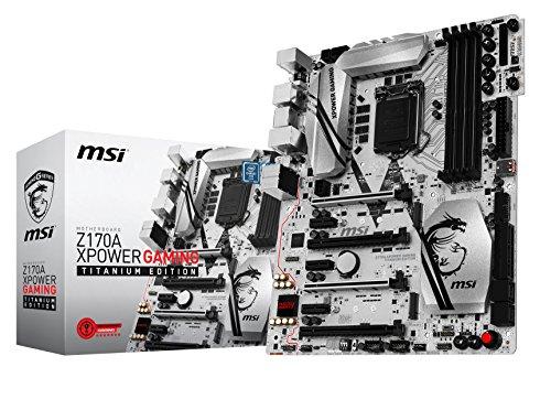 MSI Z170A XPower Gaming Mainboard Titanium Edition (ATX, LGA1151 Sockel, Intel Z170)