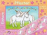10 Pflaster * EINHORN * mit 19x72mm vom Döll-Verlag // 264801 // Kinderpflaster Kinder Geburtstag Kindergeburtstag Mitgebsel Einhörner Feen Märchen