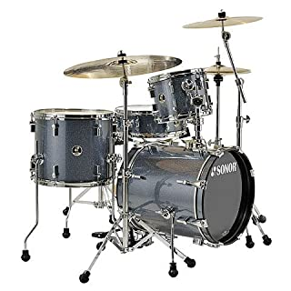 Sonor Safari Shell Set - Black Galaxy Sparkle