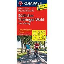 Südlicher Thüringer Wald - Suhl - Coburg: Fahrradkarte. GPS-genau. 1:70000 (KOMPASS-Fahrradkarten Deutschland, Band 3079)