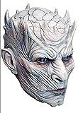Mahal796 Latexmaske für Erwachsene, Motiv Night 'S King – Game of Thrones – Einheitsgröße