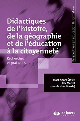 Didactiques de l'histoire, de la gographie et de l'ducation  la citoyennet : Recherches et pratiques
