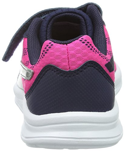 Puma Unisex-Kinder Meteor V Ps Low-Top Pink (Pink Glo-puma Silver 03)