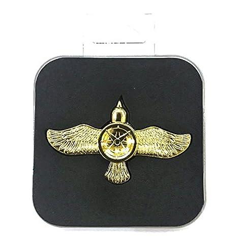 Silvercell Multicolor Fly Bird Stress Reducer Hand Spinner Fidget Toy