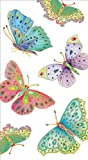 Entertaining-with-Caspari-Jeweled-Butterflies-Paper-Guest-Towels,-Ivory,-Pack-of-15