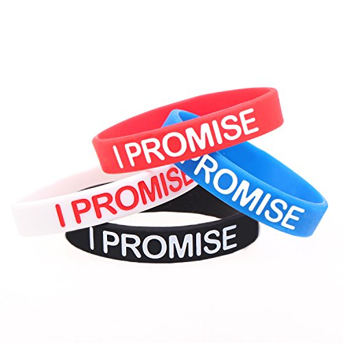 ishow-silicone-rubber-bracelet-engraving-i-promise-cuff-wristband-size-65-4-pieces