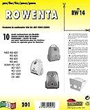 RW 14 sacchetti per aspirapolvere confezione da 10 sacchi carta