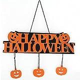 Xuxuou Halloween Anhänger Dekoration Restaurant Tür-Schild