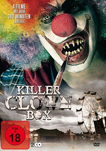 Killer Box (Killer Clown Box - Clown of Fear 1+2 /  Circus of Horror / Freakshow [2 DVDs])