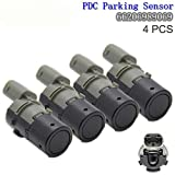 YUK 4 Stücke 66206989069 Vorne Hinten Bumper Unterstützung Reverse PDC Hilfe Parkplatz Sensor Für E39 E46 E53 E60 E61 E63 X3 X5 (4 Stücke)
