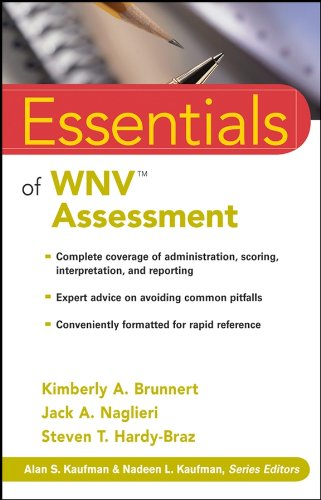 Essentials of WNV Assessment (Essentials of Psychological Assessment Book 65) (English Edition)