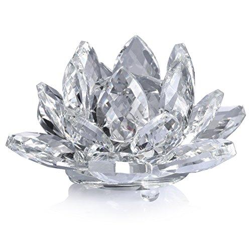 Neewer® 4Plug/10cm Flor De Loto De Cristal Claro Con La Caja De Regal
