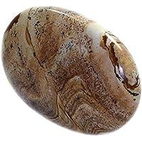 budawi® - Landschaftsjaspis Seifenstein 60 x 40 mm, Auflagestein Jaspis, Massage Stein, Handschmeichler, Taschenstein preisvergleich bei billige-tabletten.eu
