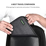 UGREEN Travel Cable Organiser Electronics Gadget Cable Tidy Bag Case Wire Accessory Tech Pouch Storage Bag With Double Layer for Hard Drive, iPad Mini, PowerBank, Charger, Earphone, U Disk, SD Card