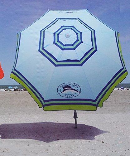tommy-bahama-2015-sand-anchor-7-feet-beach-umbrella-with-tilt-and-telescoping-pole-light-blue-by-tom