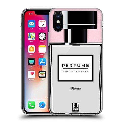 Head Case Designs Parfüm Lebenswichtige Güter Soft Gel Hülle für Apple iPhone X