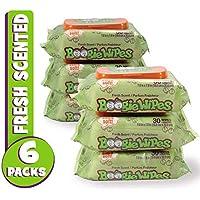 Boogie Wipes Fresh - 3 x Packs of 30 (90 Wipes)