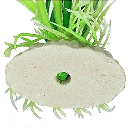 Alcyoneus Artificial Plastic Green Grass Fish Tank Ornament Water Plant Aquarium Decor 4