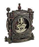 Resina mesa relojes la Grand máquina steampunk Estilo Bronce Acabado Reloj de mesa 6,5x 7,75x 2,25pulgadas bronce modelo # wu77170a4