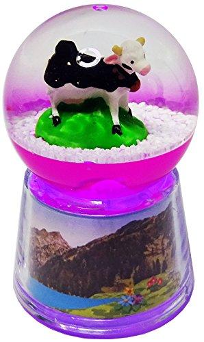 Boule Vache lumineuse LED - Rose