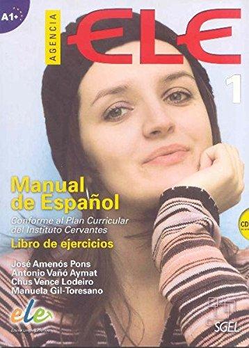 Agencia ELE 1. Cuaderno de ejercicios (inkl. CD): Manual de español. Libro de ejercicios. Nivel A1+