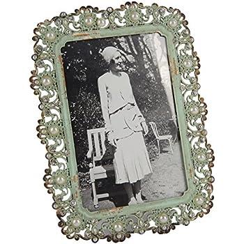 Turquoise//Bleu HUIXIANG Cadre Photo 10x15cm Vintage Cadres Portrait R/étro Rustique Posters Frames Antique Horizontal Vertical sur Table Mural Cadeau pour Amis Anniversaire Decor Bureau /à Domicile