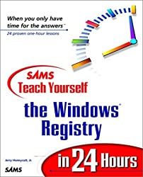 Sams Teach Yourself the Windows Registry in 24 Hours by Jerry Honeycutt (1999-04-22)