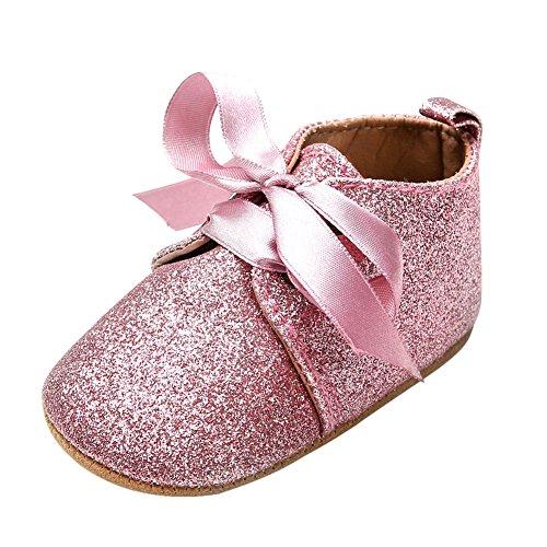 74be1dcac3aaf Chic-Chic Chaussures Souple Bébé et Bambin Garçons et Filles Chausson  Mignon Chaussures Premiers Pas