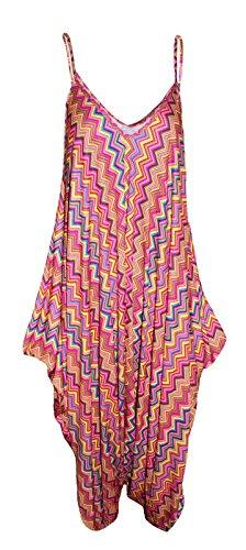 Sugerdiva - Robe - Moulante - Femme Multi Zigzag