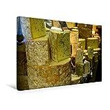 Premium Textil-Leinwand 45 cm x 30 cm quer, Blauschimmelkäse | Wandbild, Bild auf Keilrahmen, Fertigbild auf echter Leinwand, Leinwanddruck: Alles Käse (CALVENDO Lifestyle)