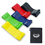 #9: Resistance Band set, Stretch Bands, Exercise Band, Loop Band for Exercise, Legs, Gym, Workout, Pull ups, Stretching, - Light, Medium, Heavy, Resistance Loop Bands For Fitness, Butt, shoulder, Glutes, Yoga, Physical Therapy, Home exercise Training for Women, Men