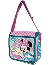 Bolsa bandolera de Minnie Mouse para niña 25X25X8CM