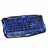 Best Gaming Keyboards - Trucase TCGK-1 USB Wired Illuminated Gaming Keyboard Review
