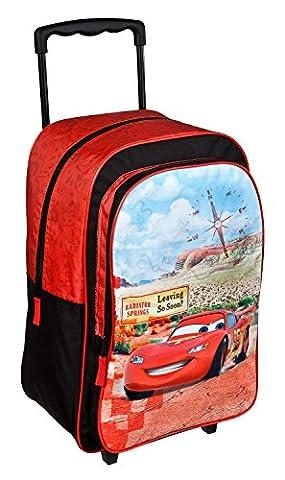 Undercover CAGR8127 Trolley für Kinder, Disney Pixar Cars, ca. 36 x 25 x 10 cm