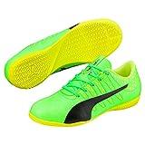 Puma Unisex-Kinder EvoPower Vigor 4 IT Jr Fußballschuhe, Grün (Green Gecko Black-Safety Yellow 01), 28 EU