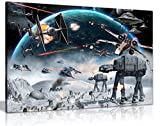 Star Wars Kunstdruck, Leinwand, Wandbild, A1 76x51 cm (30x20in)