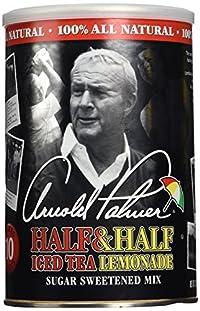 AriZona, Arnold Palmer, Half & Half Ice Tea Lemonade Drink Mix, (Makes 10 Quarts) 32oz Canister (Pack of 2)