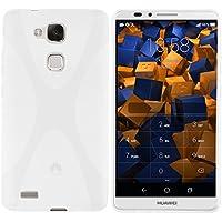 mumbi X-TPU Schutzhülle für Huawei Ascend Mate 7 Hülle transparent weiss