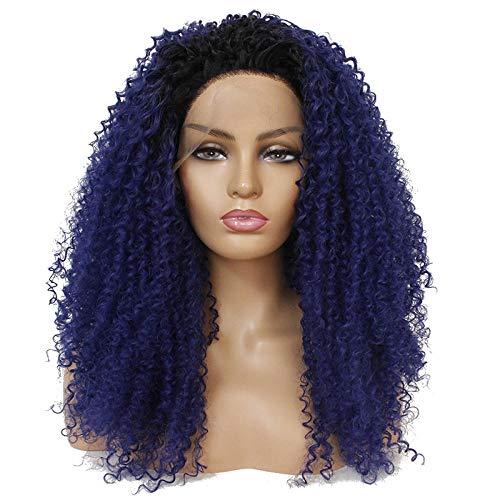 Kostüm Perücken Lockenwicklern Mit - Perücke für Erwachsene, Perücke und Haarteile, Lace-Perücke, Kopfbedeckung, kurzes, lockiges Haar