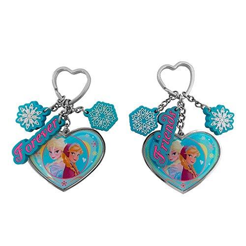 2 echte Disney Frozen 'Forever Friends' Hearts Schlüsselanhänger Set (Frozen Olaf-geldbörse)